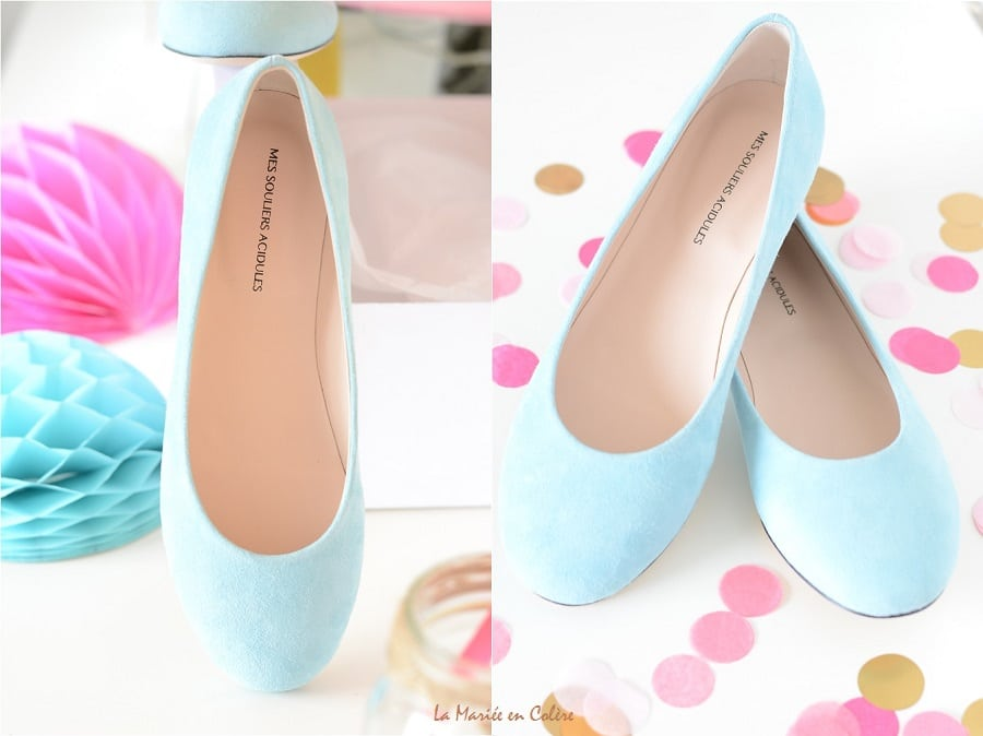 Chaussures personnalisées mariage