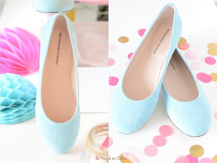 Chaussures personnalisées mariage