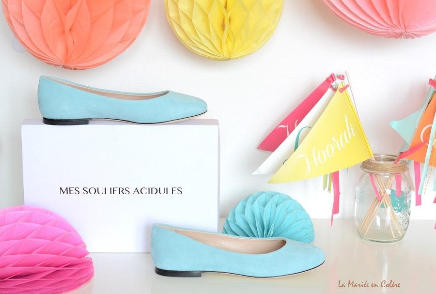 Chaussures mariage personnalisées