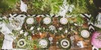 Comment créer une table de mariage ambiance nature ?
