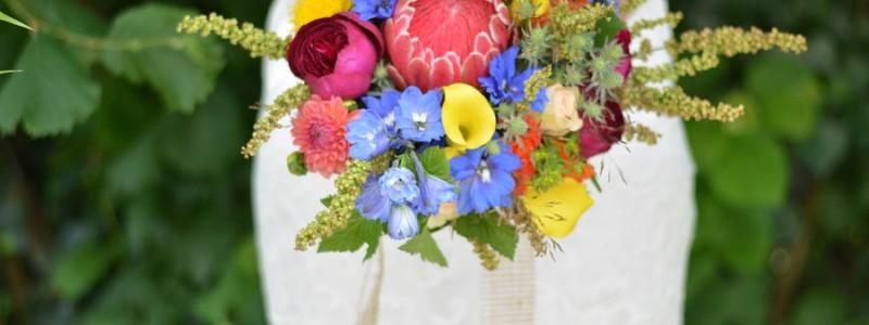 Bouquet de mariée du mois de Juin