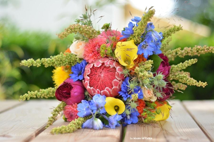 bouquet mariée juin