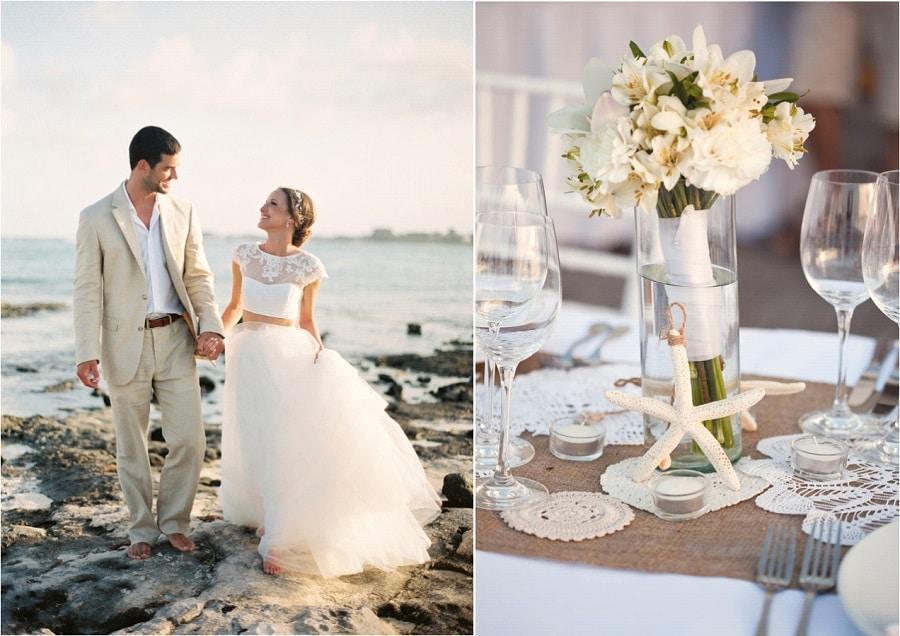 Inspiration mariage la plage se marier sur une plage - Mariage a la plage ...