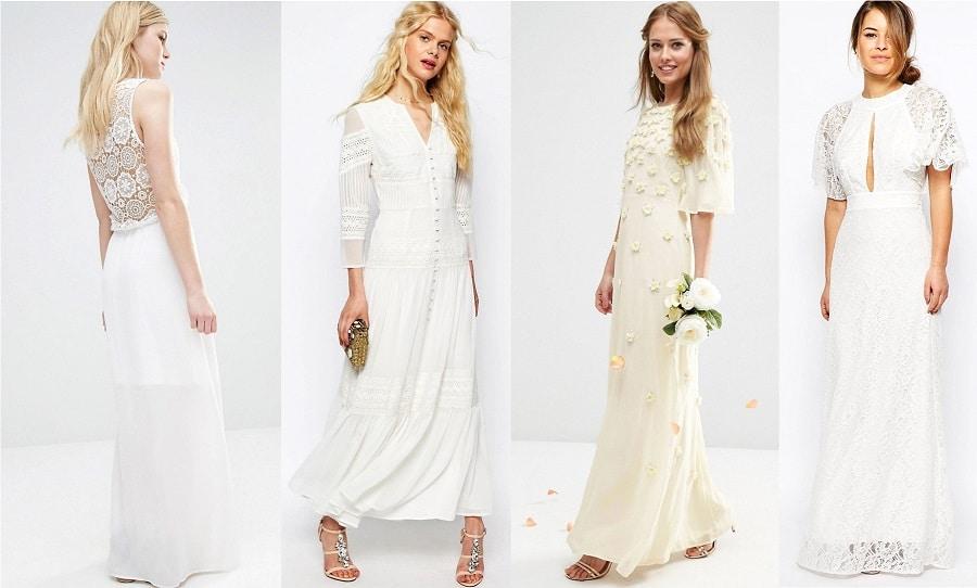 Shopping 15 robes longues pour le lendemain du mariage for Robes pour la 50e anniversaire de mariage