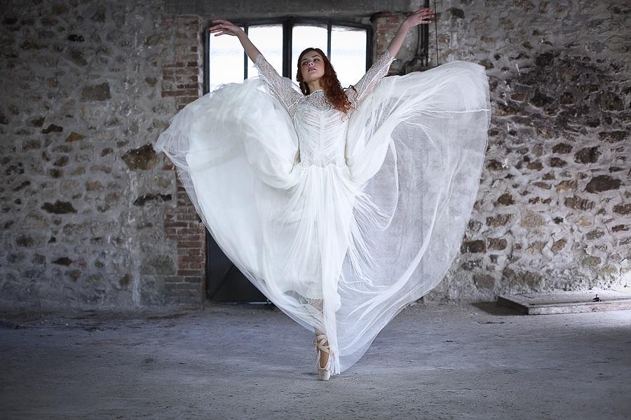 robe de mariée créateur confidentiel création