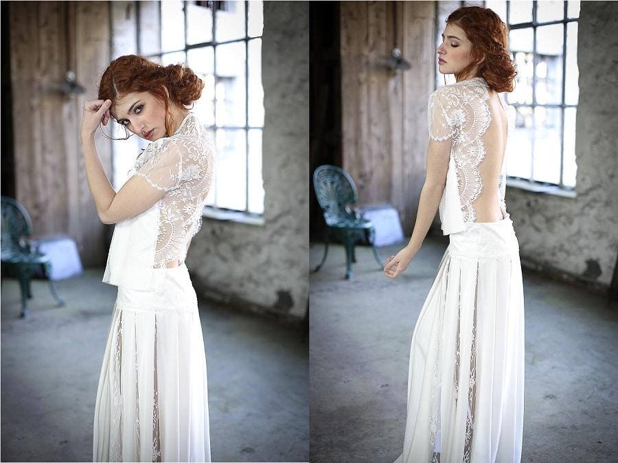 créateur robe de mariée confidentiel création 2017