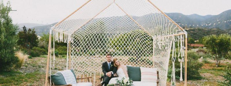 macramé mariage