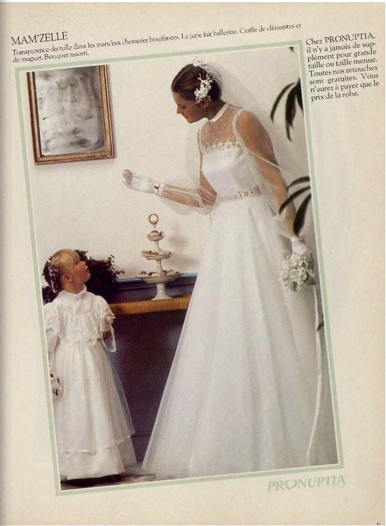 robe de mariée maman
