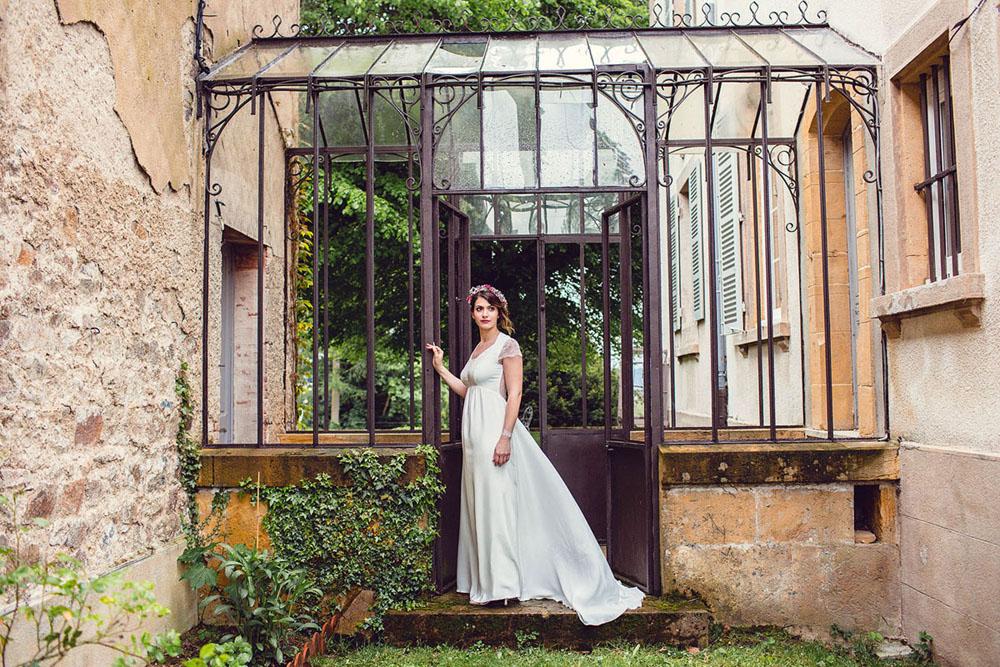 shooting kaa couture modèle harmonie collection robe de mariée 2017 (1)