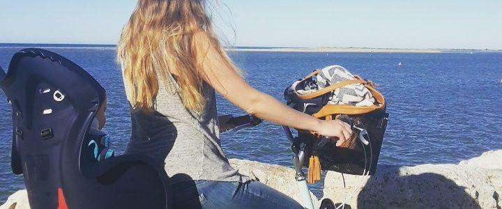 vacances bébé bord de mer