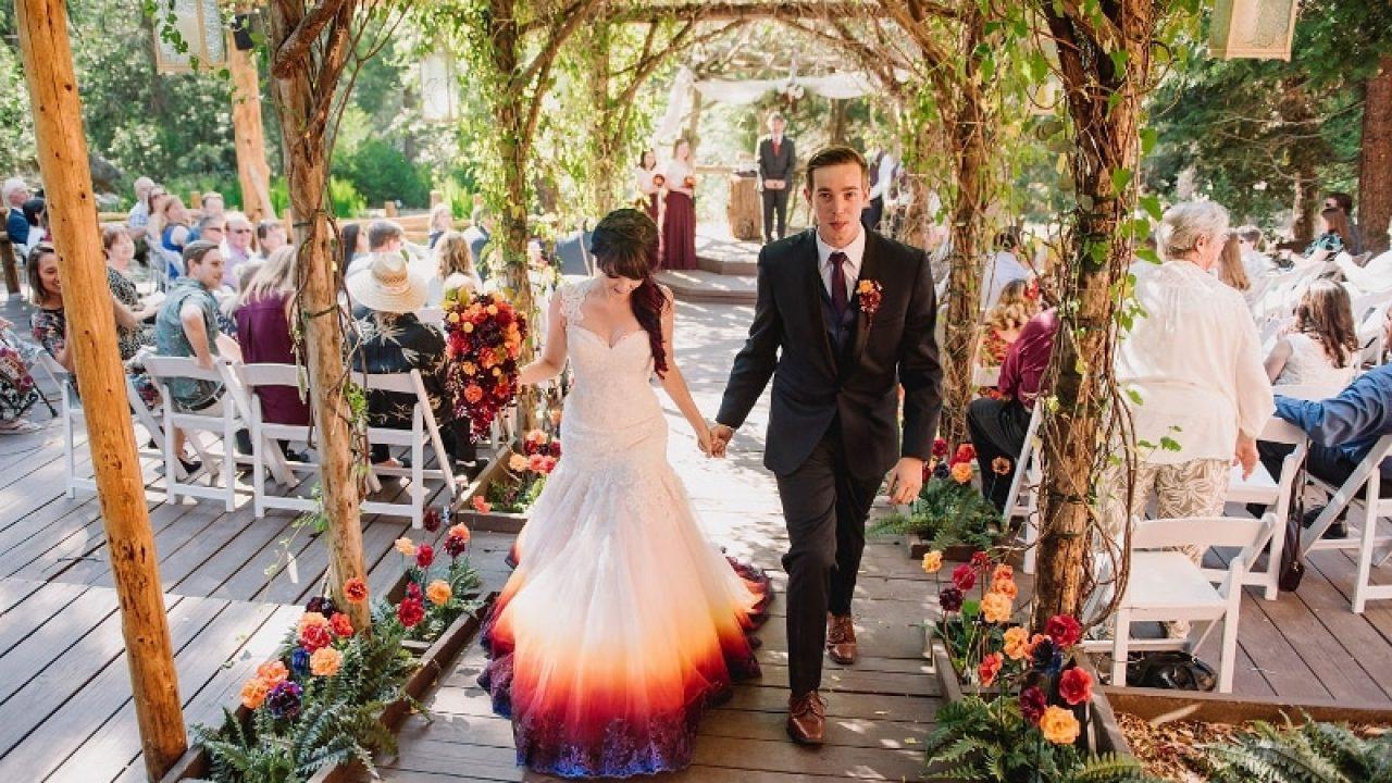 Robe de mariée originale : et si on optait