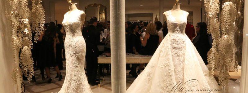 L'inauguration du nouveau flagship store Pronovias à Paris