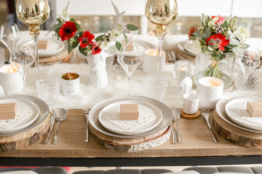 ma table de no l chez maisons du monde d coration de mariage et de jolies f tes. Black Bedroom Furniture Sets. Home Design Ideas