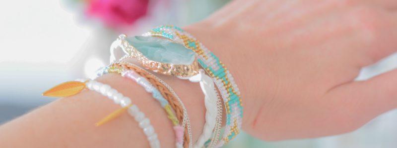DIY : un bracelet multirangs pour vos témoins
