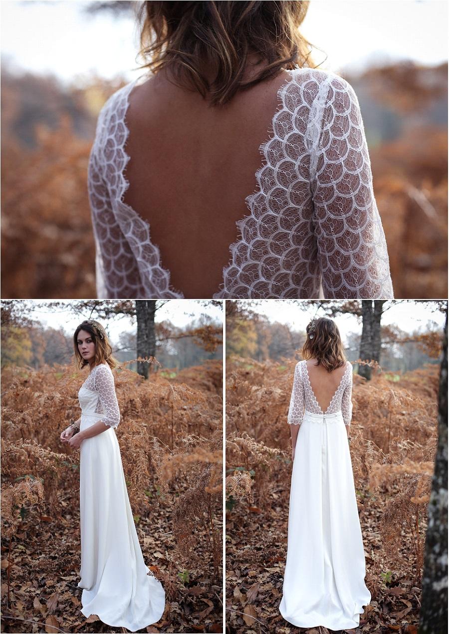 robe de mariee bordeaux