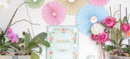 DIY rosaces papier
