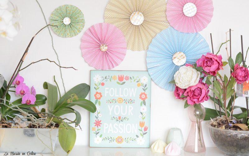 DIY : des rosaces en papier