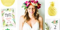 {Inspiration} Mariage Tropical Style