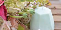 {DIY} Bougies géométriques & {Inspiration} Bouquet pastel