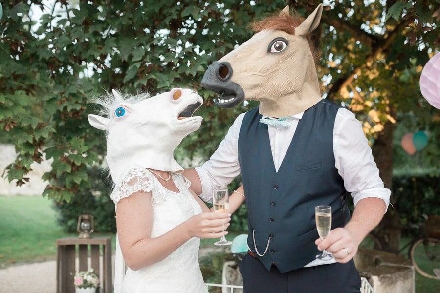 mariage vintage mariés