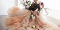 {Mode Mariage} Une robe de mariée de couleur pour mon mariage