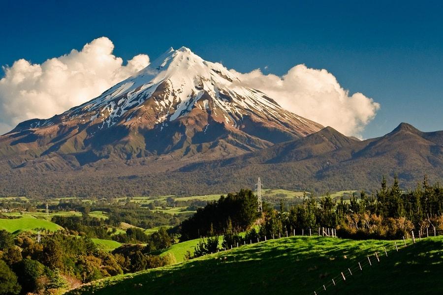 Mount Taranaki-voyage de noces nouvelle zélande