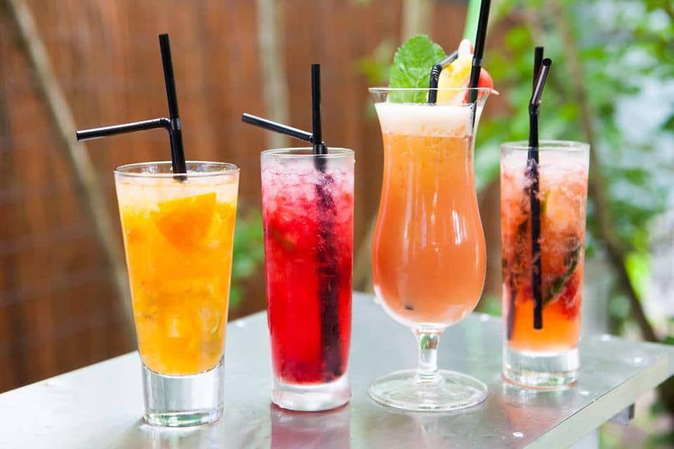 bar à cocktail mariage
