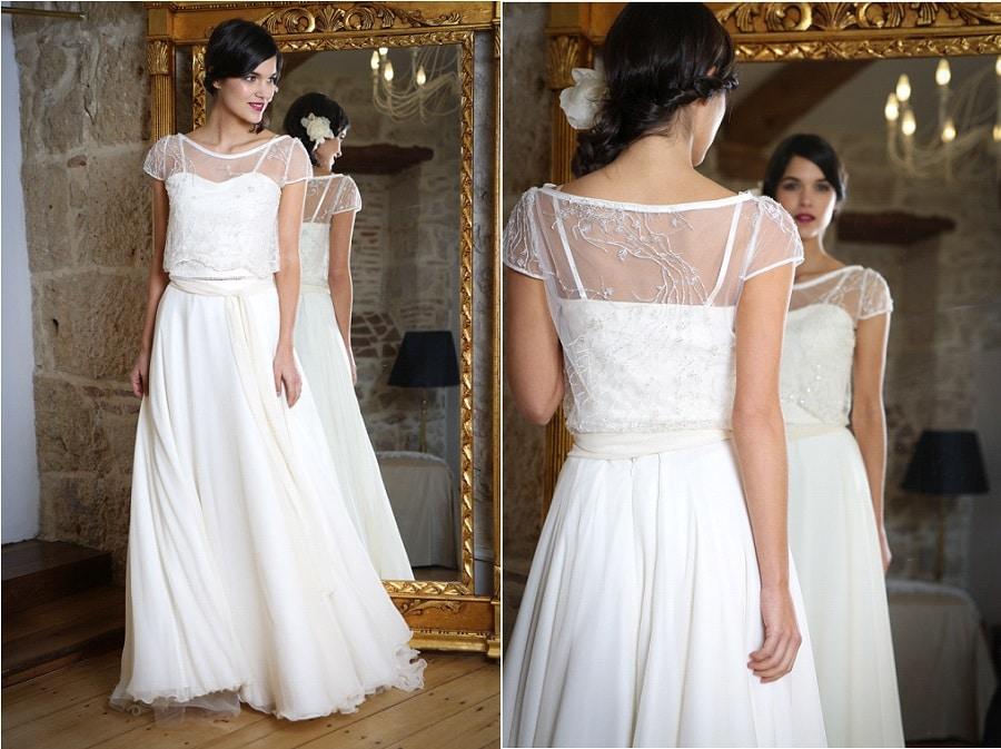 Créatrice robes de mariée elsa gary