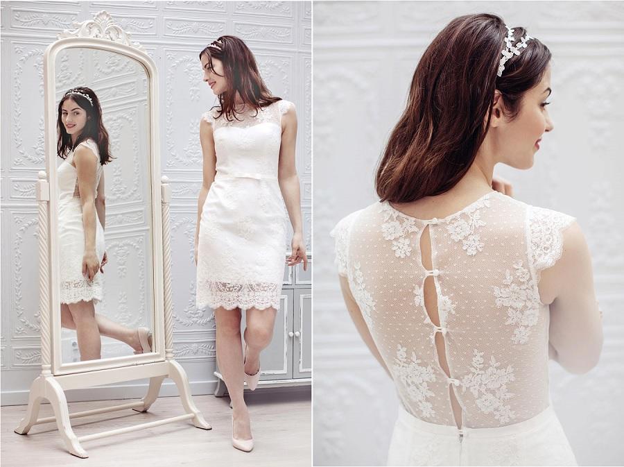 robe mariage mairie