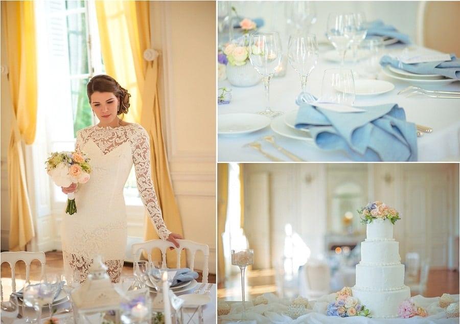 ambiance décoration mariage élégant-