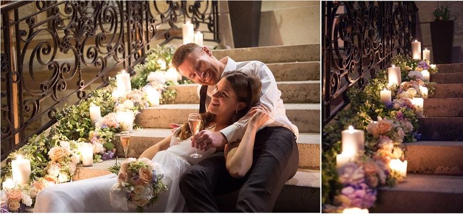 ambiance mariage fleuri romantique