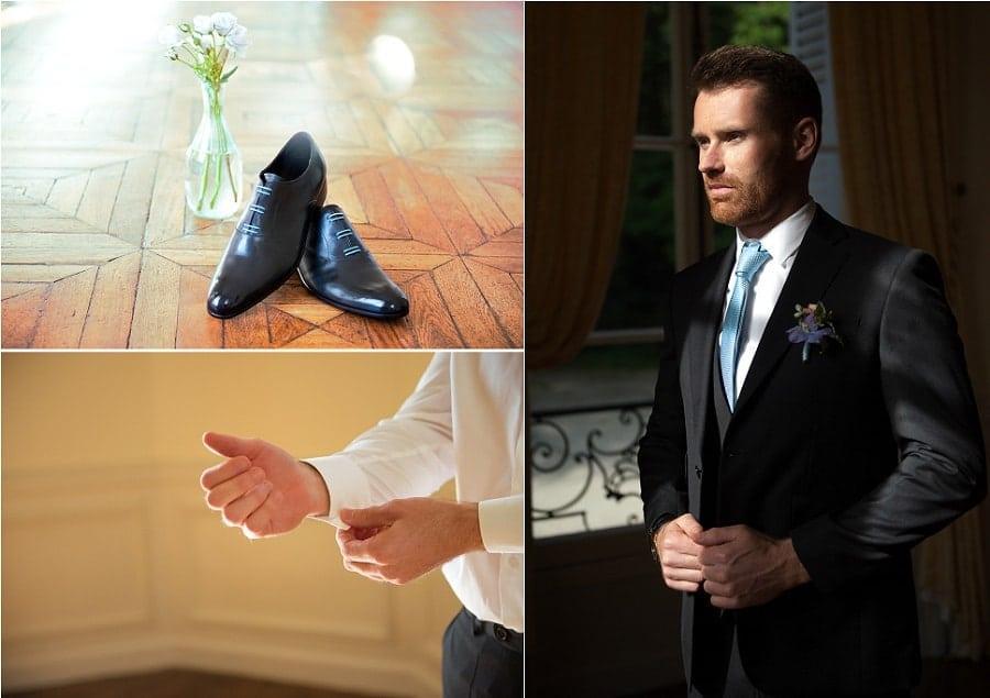 costume marié chic