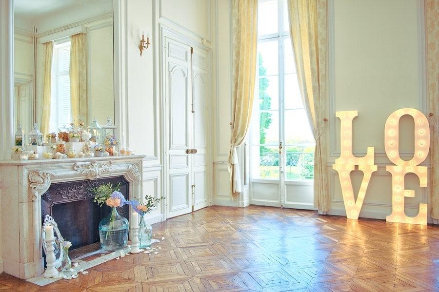 décoration mariage élégant