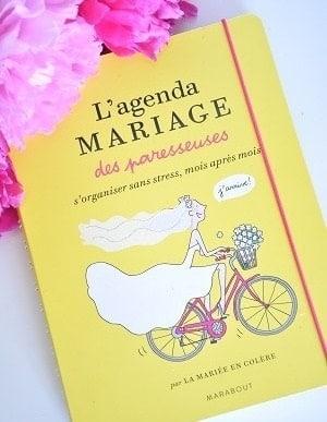 livre organisation mariage planning