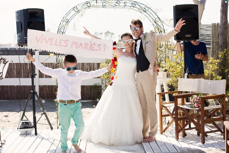 Photo mariage a la plage - Mariage a la plage ...