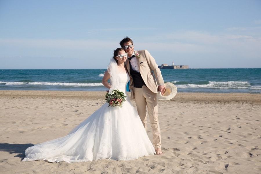 mariage à la plage,