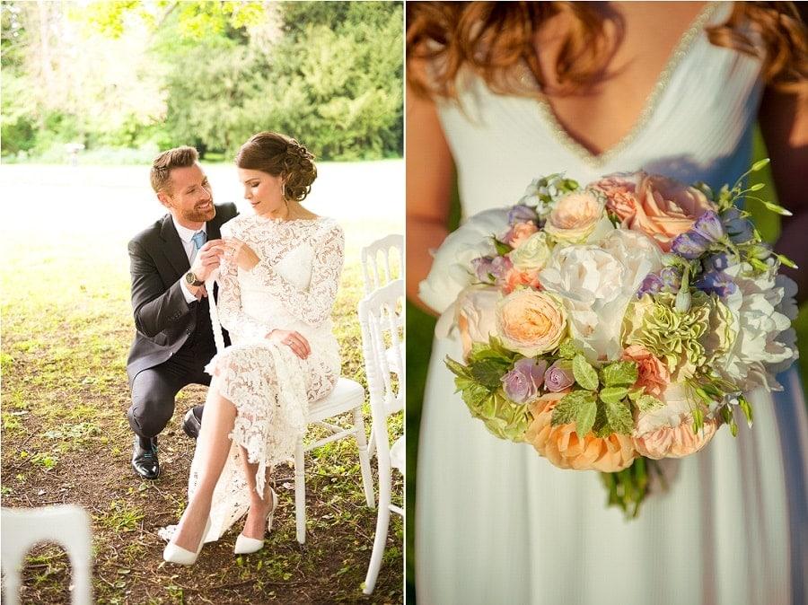 tenue mariage élégant