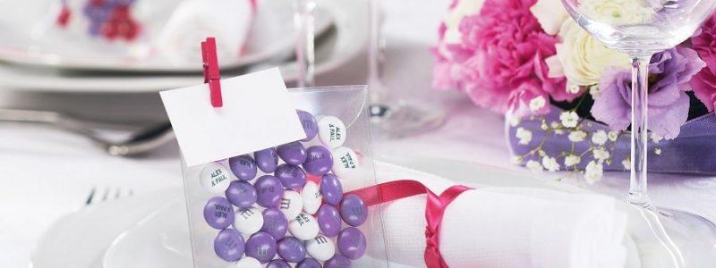 Les M&M's personnalisés, l'alternative fun des dragées de mariage