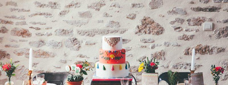 {Inspiration} Mariage coloré, ambiance Mexicaine