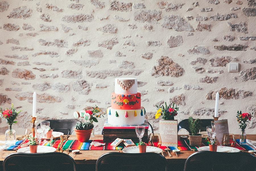 ambiance colorée mariage