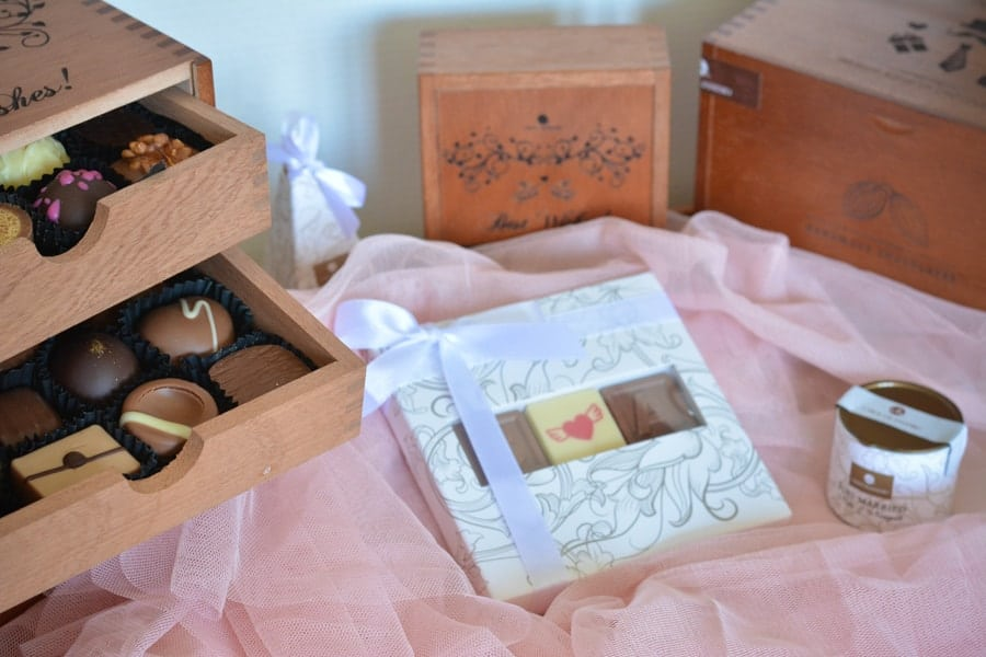 boite chocolats pour mariage
