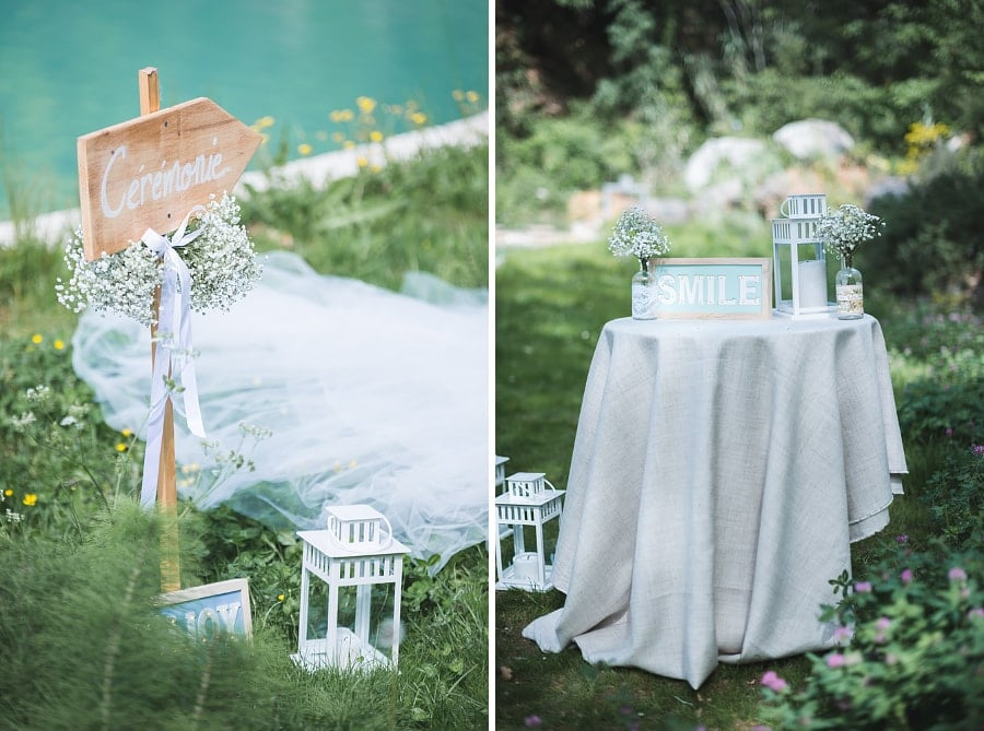 cérémonie mariage chic