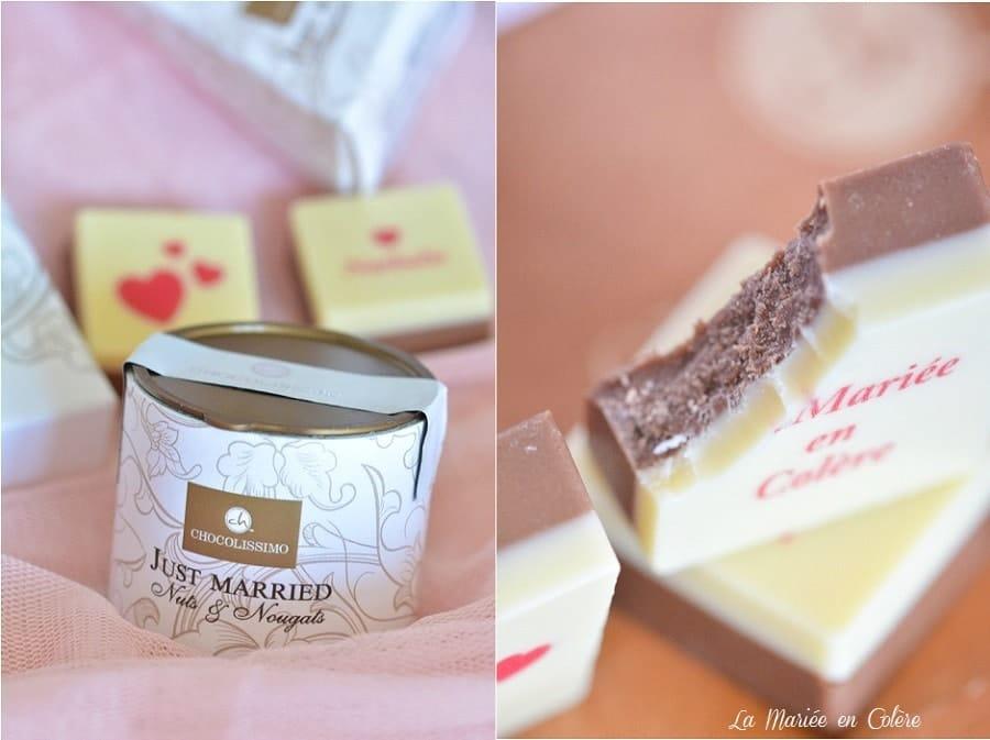 cadeau mariage chocolats
