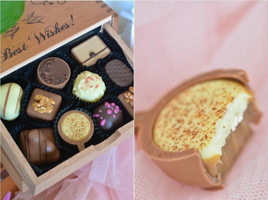chocolats mariage remplacer dragées