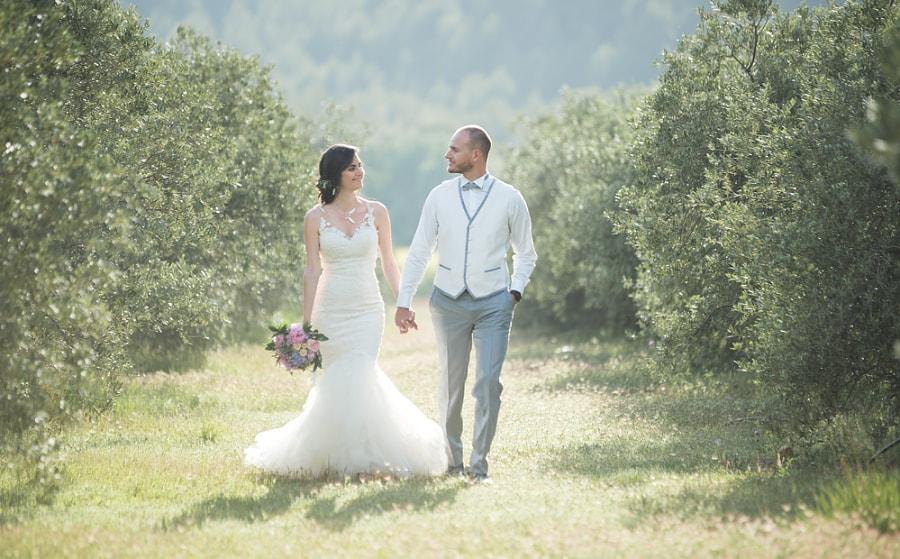 couple mariés élégants
