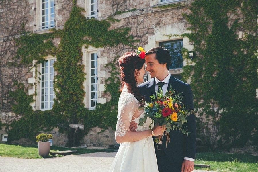 décoration mariage coloré