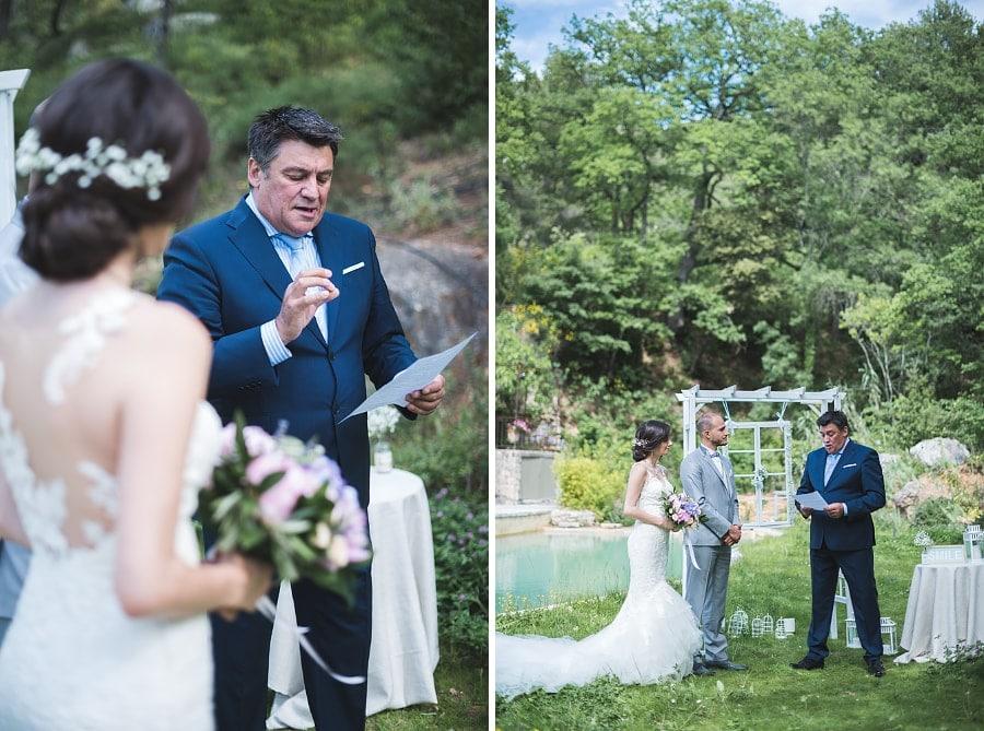 mariage élégant cérémonie laïque