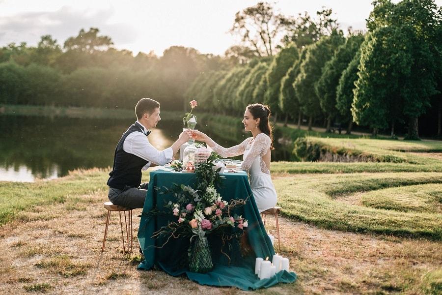 mariage dans un chateau