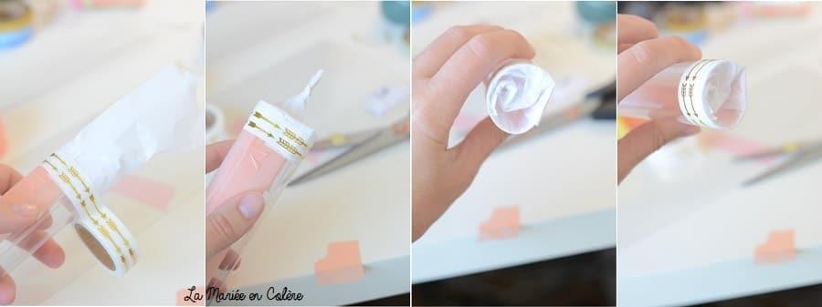 pas à pas canon confettis mariage