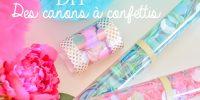 DIY mariage : des canons à confettis pour la sortie de la cérémonie